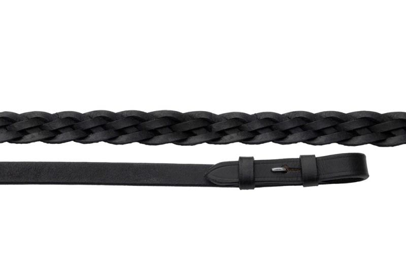 Windsor Equestrian Leather Plaited Reins