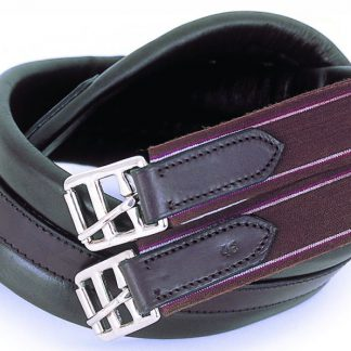 Windsor Equestrian Leather Padded Girth