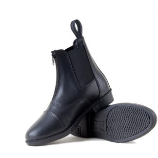 Rhinegold Boston Front Zip Paddock Boots Black
