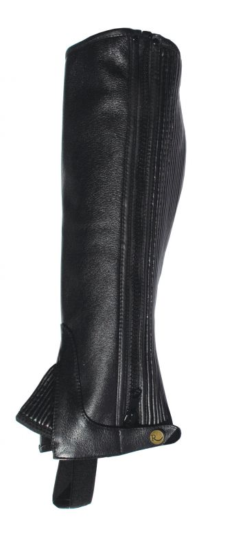 Rhinegold Adult Leather Gaiters
