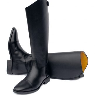 Rhinegold Hanover Long Leather Riding Boot Black