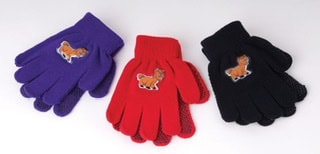 Harlequin Children's Pony Design Magic Gloves