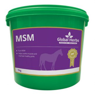 Global Herbs Pure MSM - 1kg Tub