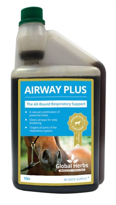 Global Herbs Airway Plus Liquid - 1l