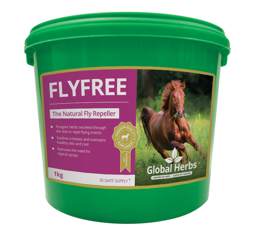 Global Herbs Fly Free - 1kg Tub