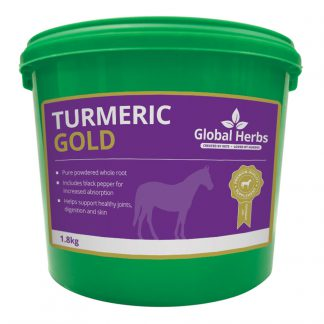 Global Herbs Tumeric Gold - 1.8kg Tub