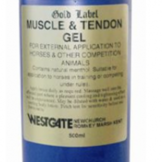 Gold Label Muscle & Tendon Gel 500ml