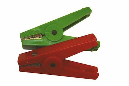 Agrifence Crocodile Clip Red/Green
