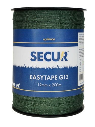 Agrifence Green Easytape 12mm x 200m