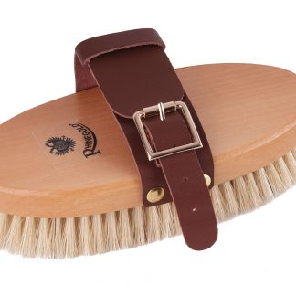Rhinegold Leather Strap Body Brush