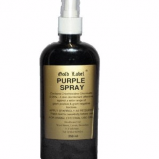 Gold Label Purple Spray
