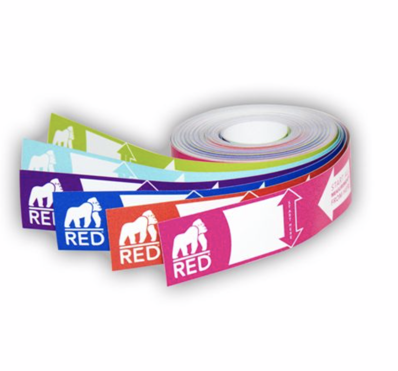 Red Gorilla Weigh Tape