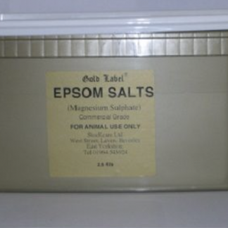Gold Label Epsom Salt 2.5kg