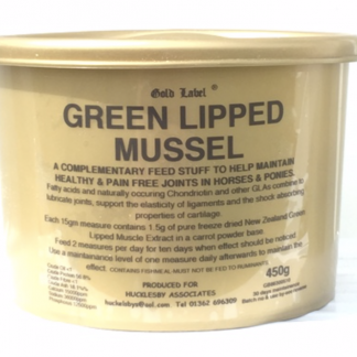 Gold Label Green Lipped Mussell 450g