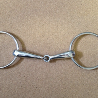 Large Ring Hollow Snaffle
