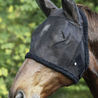 Fleece Lined Fly Mask with Ears