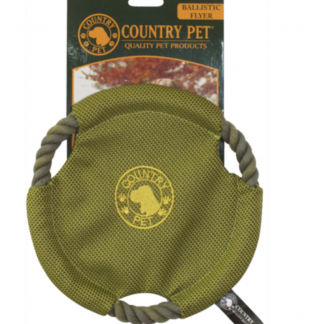 Country Pet Ballistic Flyer Toy