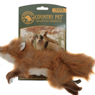 Country Pet Fox Toy