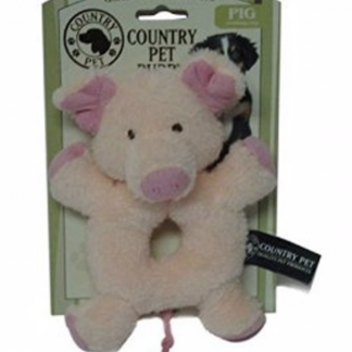 Country Pet Puppy Toy Pig