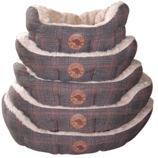 Luxury Tweed Dog Bed