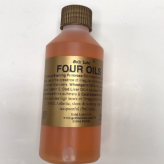 Gold Label Four Oils for Dogs 250ml
