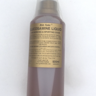 Gold Label Glucosamine Liquid for Dogs 500ml