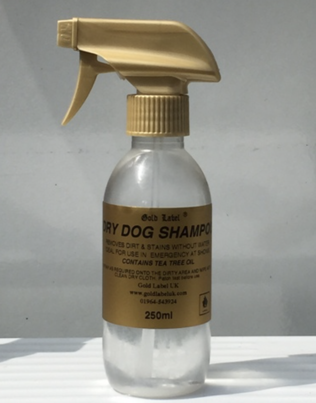 Gold Label Shampoo Dry for Dogs