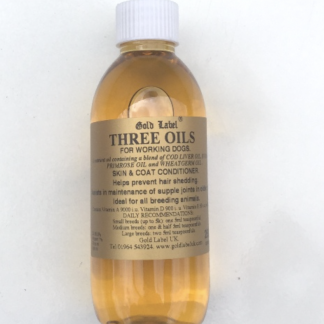 Gold Label Three Oils for Dogs 250ml