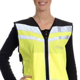 Equisafety Air Waistcoat - Please Pass Wide & Slow