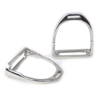 Rhinegold Stainless Steel Stirrup Irons