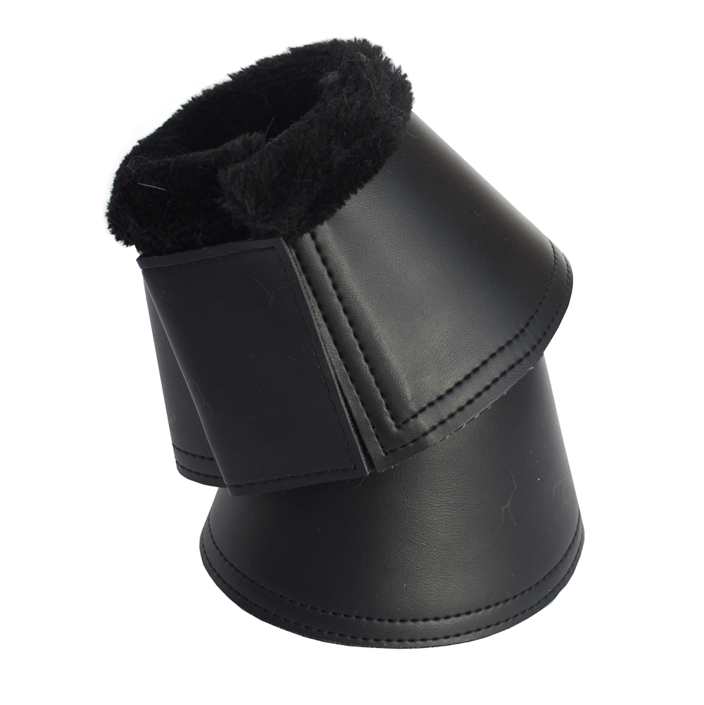 Rhinegold Fleece Trim Neopreme Over Reach Boot