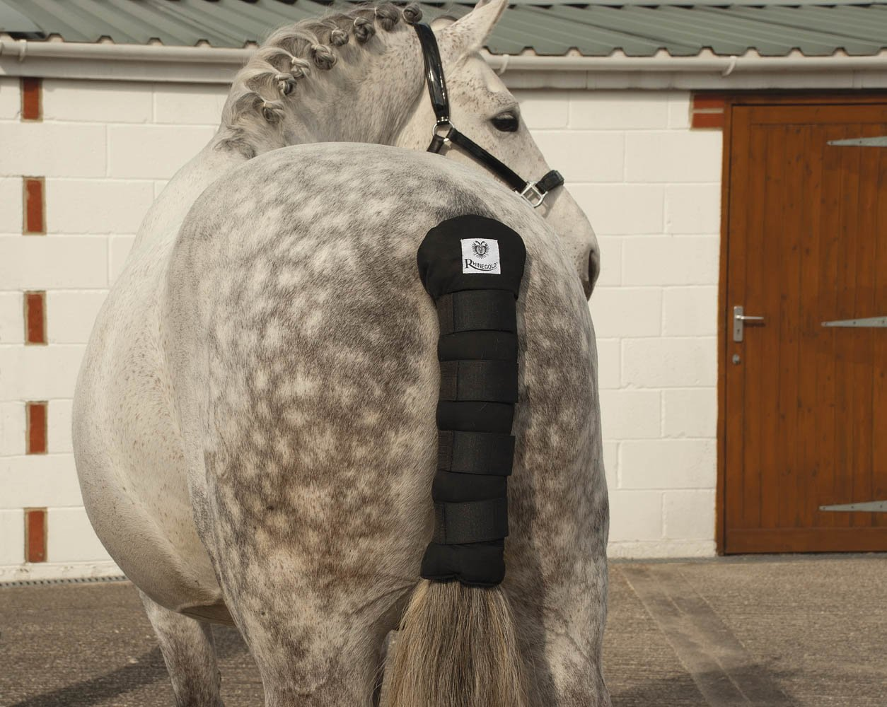 Rhinegold Cotton Quilted Tail Guard