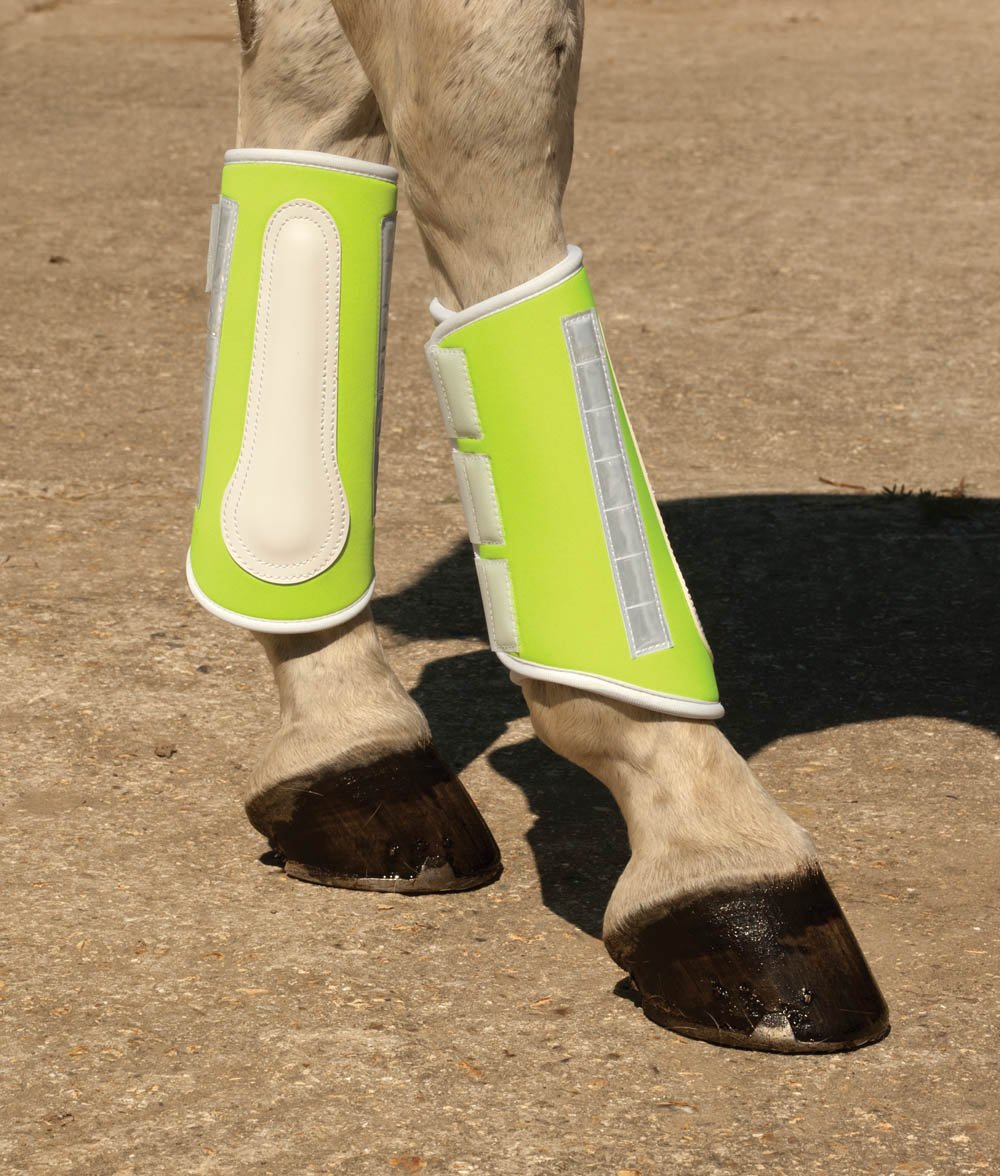 Halequin Reflective Brushing Boots