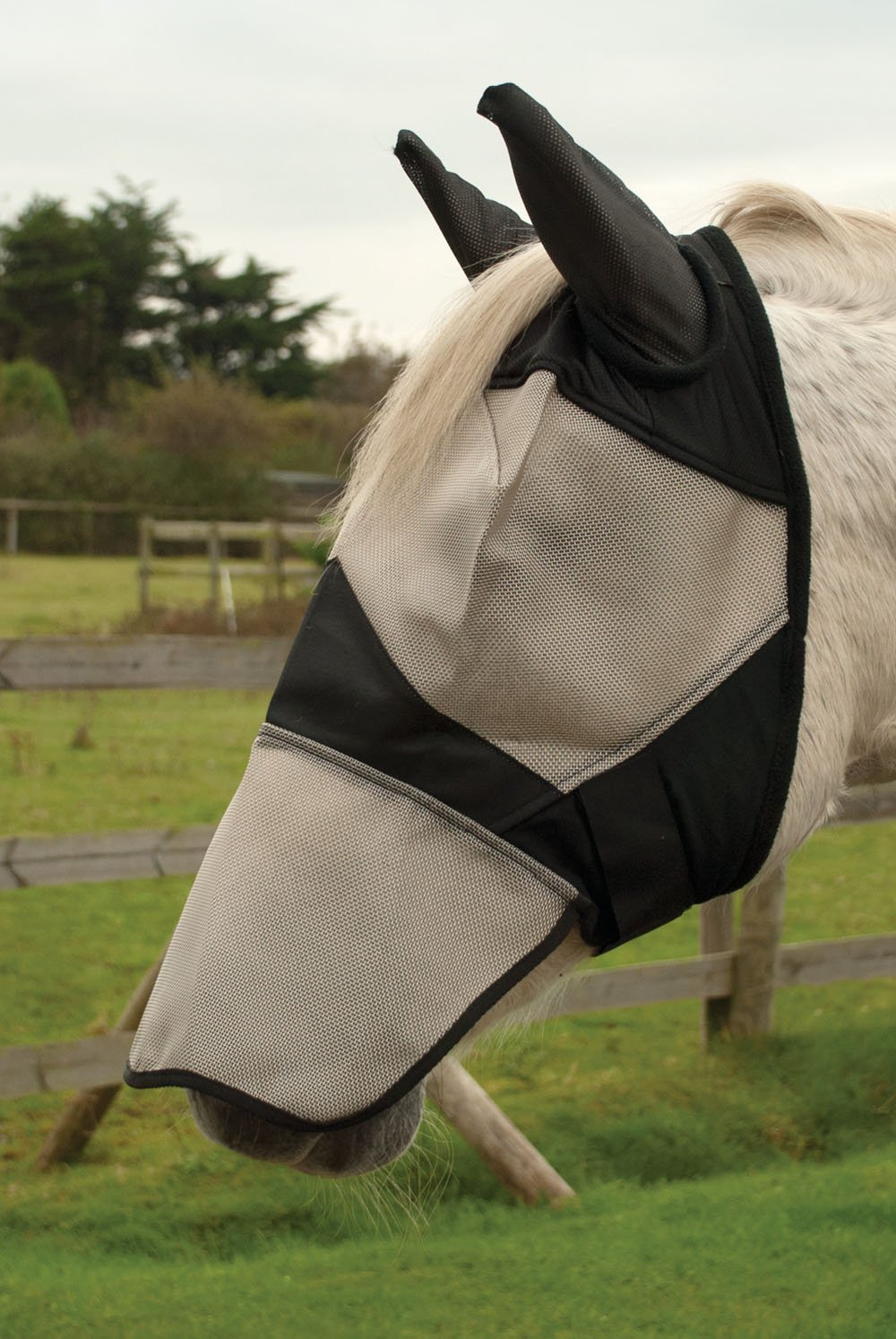 Rhinegold Fly Mask With Ear and Nose Coverage