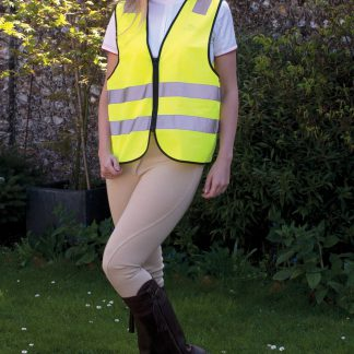 Harlequin Adults High Viz Zipped Tabard
