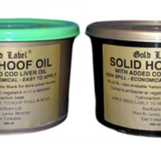 Gold Label Hoof Oil Solid 500ml